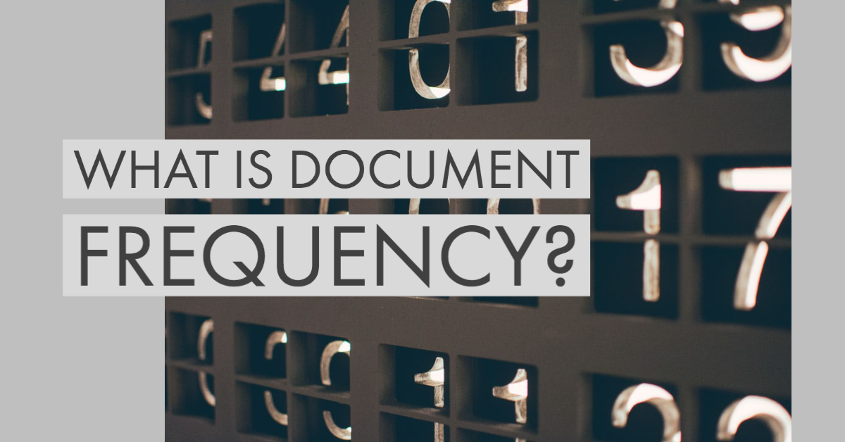 What is Document Frequency (DF) ?
